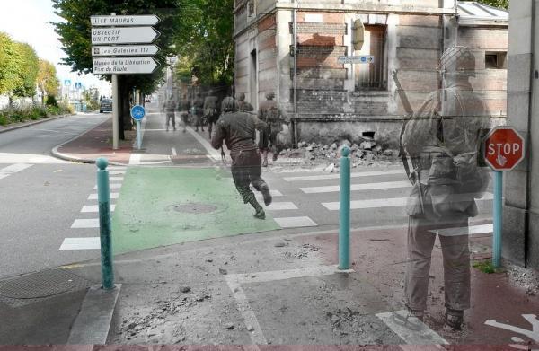 Помни прошлое, живя в настоящем. Фотопроект, который заставляет о многом задуматься (ФОТО)