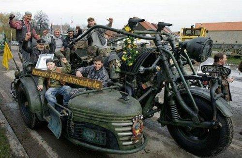 Мотоциклы для настоящих бруталов (ФОТО)