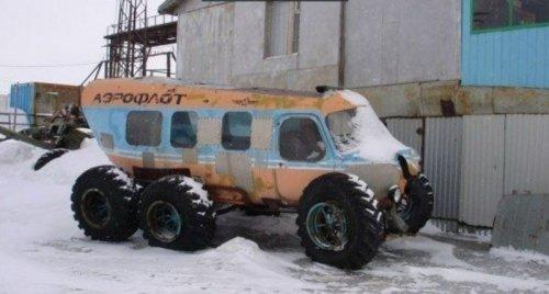 Подборка самых сумасшедших транспортных средств (ФОТО)
