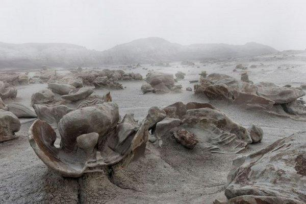 Фантастические пейзажи пустыни Бисти (ФОТО)