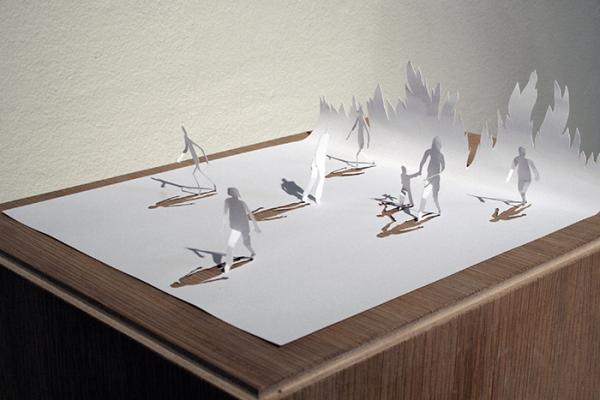 Жизнь из бумаги. Восхитительные работы датского художника (ФОТО)