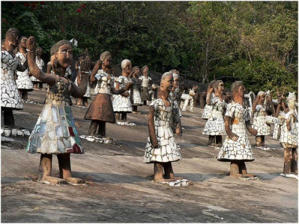 Каменный сад Чандигарха: необычный проект чиновника из Индии (ФОТО)