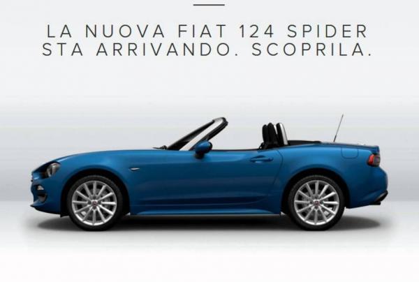 Fiat 124 Spider поступил в открытую продажу (ФОТО)