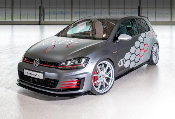 Volkswagen презентовал 400-сильный Golf GTI (ФОТО)
