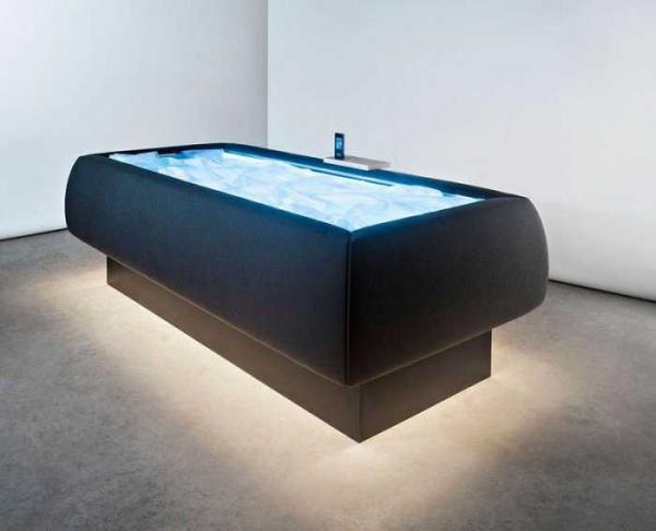 Сухой бассейн - идеальное место для релаксации (ФОТО)