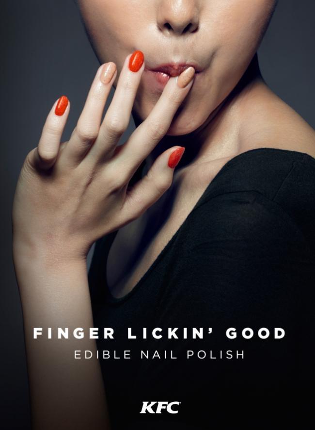 В Китае начали выпускать съедобный лак для ногтей (ФОТО)