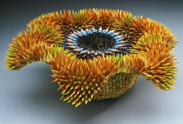 Колючие скульптуры: потрясающий проект художницы из Массачусетса (ФОТО)