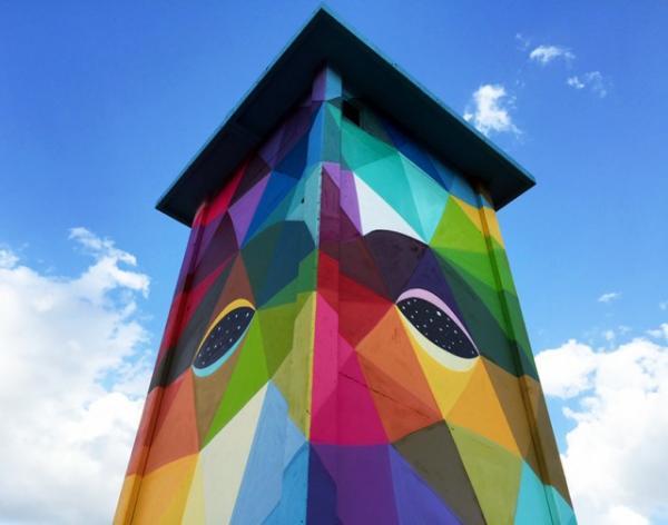 Итальянский художник превратил детский сад в шедевр искусства (ФОТО)