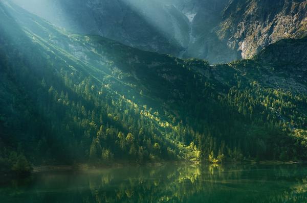 Татры - удивительные горы в лучах солнца (ФОТО)