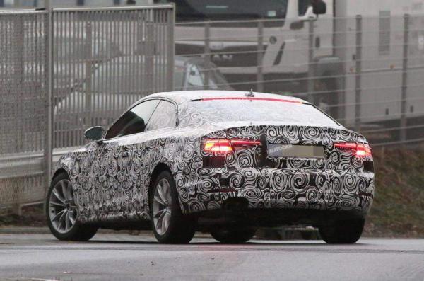 Первые тизерные изображения Audi A5 Coupe (ФОТО)