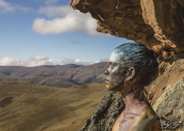 Слиться с природой. Потрясающие живые картины французского художника (ФОТО)