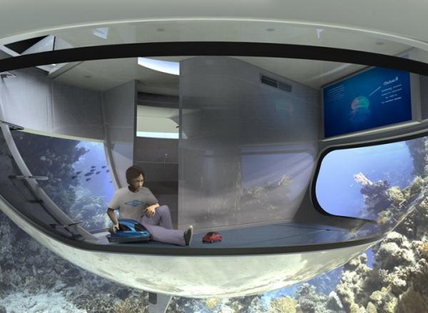 Итальянская компания представила общественности инновационный проект плавающего дома (ФОТО)