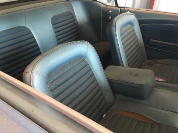 В американском штате Техас случайно обнаружили редкий экземпляр Ford Mustang  (ФОТО)