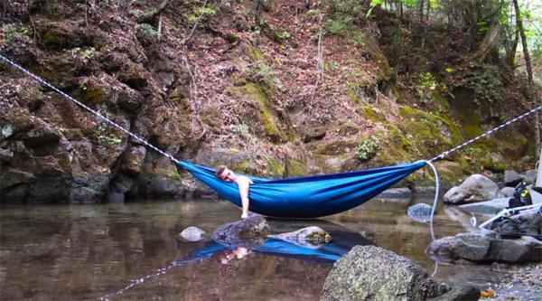 Универсальный гидрогамак или джакузи в лесу (ФОТО)