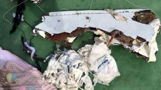 Первые снимки обломков египетского лайнера А320 (ФОТО)