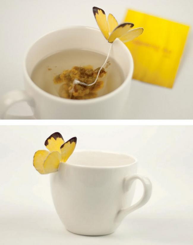 20 креативных чайных пакетиков, дизайн которых оценит каждый любитель чая (ФОТО)