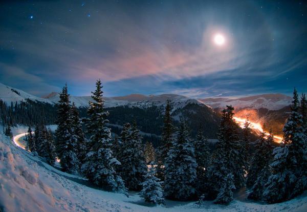 Невообразимая красота, или как выглядит ночное небо над Колорадо (ФОТО)
