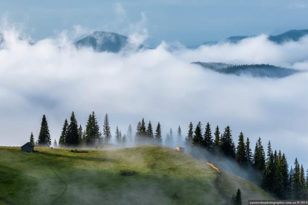Красивейшие места Карпат. Дземброня - самое высокогорное село Украины (ФОТО)