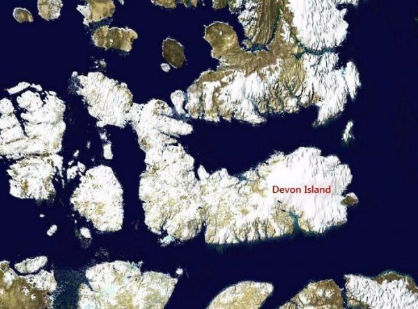 Самый большой необитаемый остров в мире (ФОТО)