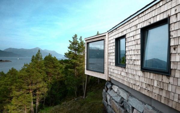 Простота и естественность: современный дом отдыха в живописной Норвегии (ФОТО)