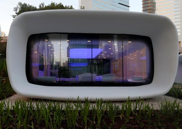 В Дубае появилось первое в мире здание, сделанное на 3D-принтере (ФОТО)