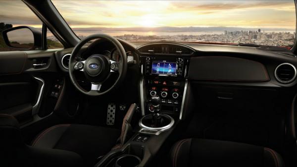 Компания Subaru презентовала мощное купе BRZ (ФОТО)