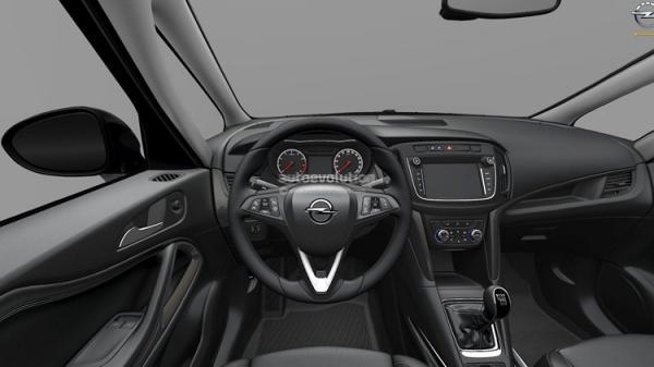 В сети появились снимки обновленного Opel Zafira (ФОТО)