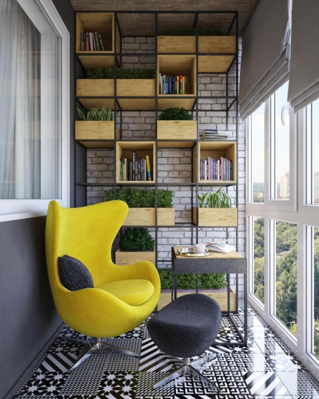 25 идей, как превратить маленький балкон в уголок для отдыха (ФОТО)