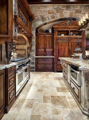 Необычный вариант. Как декорировать деревянную кухню (ФОТО)