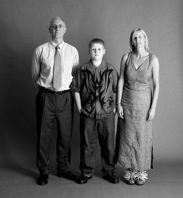 История одной семьи. 18 креативных снимков (ФОТО)