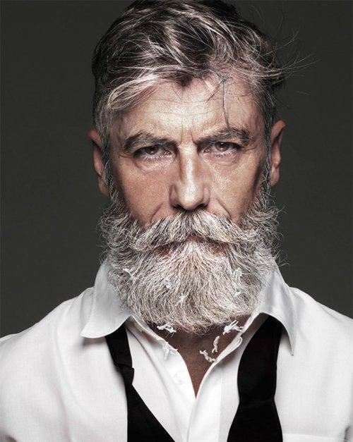 60-летний француз отрастил бороду и стал fashion-моделью (ФОТО)