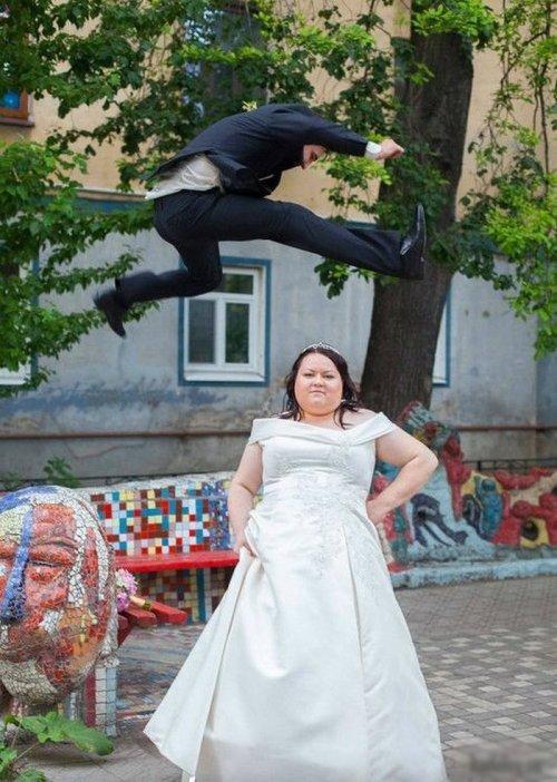 25 безумных свадебных снимков, после которых не хочется жениться (ФОТО)