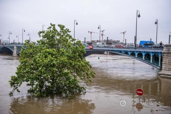 Париж под водой. Какие последствия наводнения в городе (ФОТО)