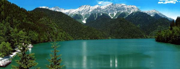 Озеро Рица - жемчужина солнечной Абхазии (ФОТО)