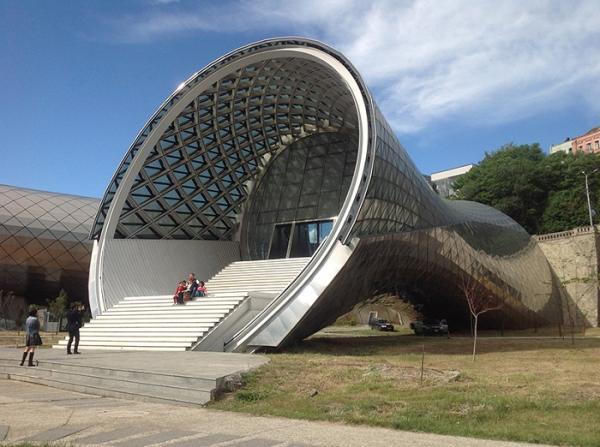Архитектура 21 века:  культурный комплекс будущего в столице Грузии (ФОТО)