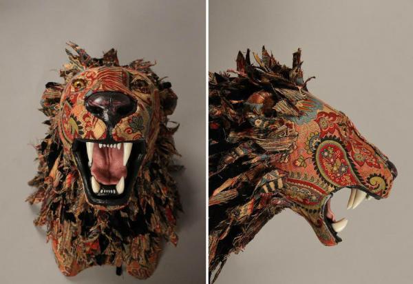 Эффектные скульптуры из ткани в исполнении  художницы из США (ФОТО)