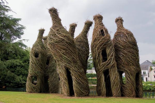 Вдохновленный природой: Дома-гнезда Патрика Догерти (ФОТО)