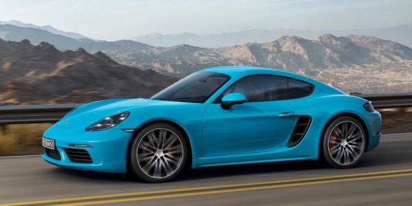 Немцы запустили в серию Porsche 718 Cayman (ФОТО)