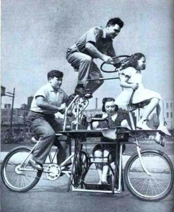 Эволюция велосипеда. От машины для бега до наших дней (ФОТО)