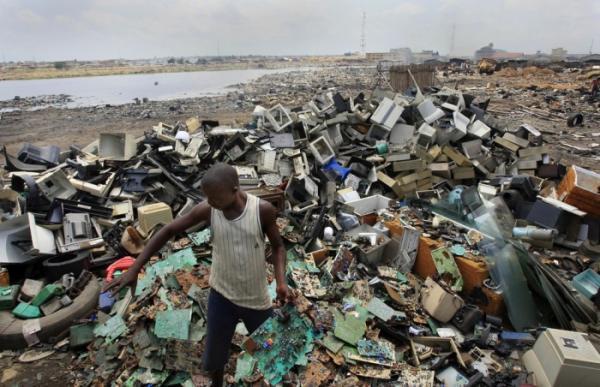 Экологический ад. Самые грязные места на планете (ФОТО)