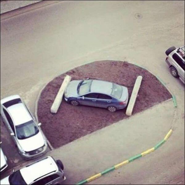 20 беспощадных примеров того, что может быть за хамскую парковку (ФОТО)
