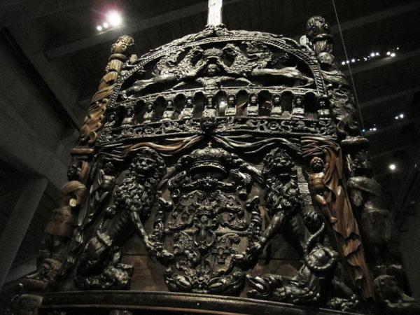 Vasa — единственный в мире сохранившийся корабль постройки XVII века (ФОТО)