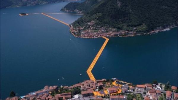 Как ходить по воде: необычное изобретение итальянского художника (ФОТО)