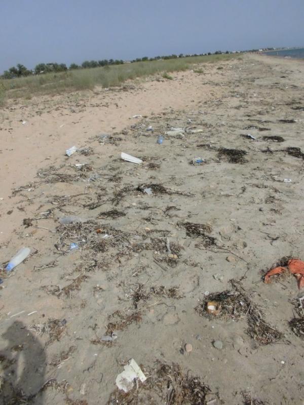 Евпатория встречает туристов. Как выглядят пляжи в аннексированном Крыму (ФОТО)