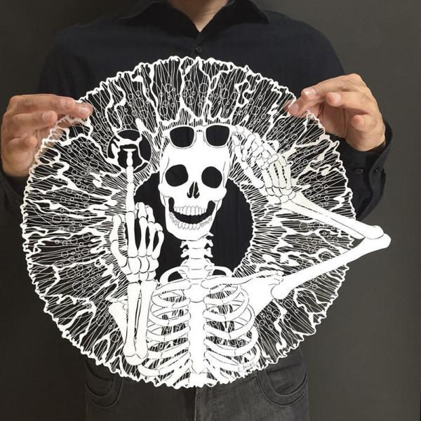 Японский мастер вырезает из бумаги невероятно утонченные узоры (ФОТО)