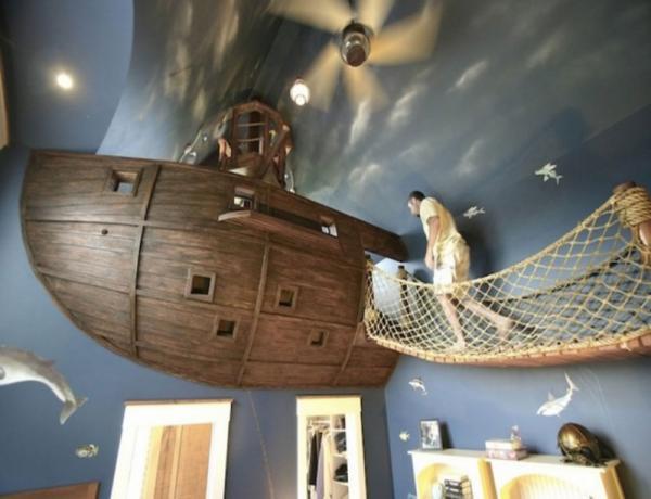 Жизнь в сказке: красивые варианты детских комнат (ФОТО)
