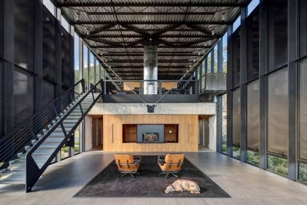 Потрясающий стеклянный дом посреди леса в США (ФОТО)
