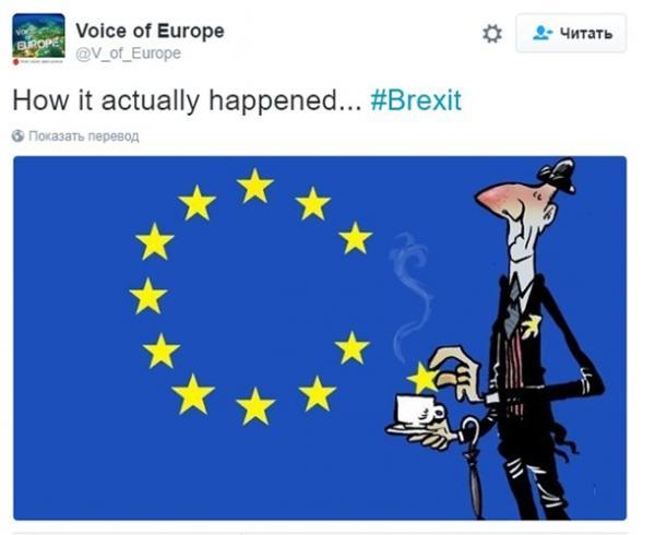Независимая Британия: лучшие фотожабы о референдуме (ФОТО)