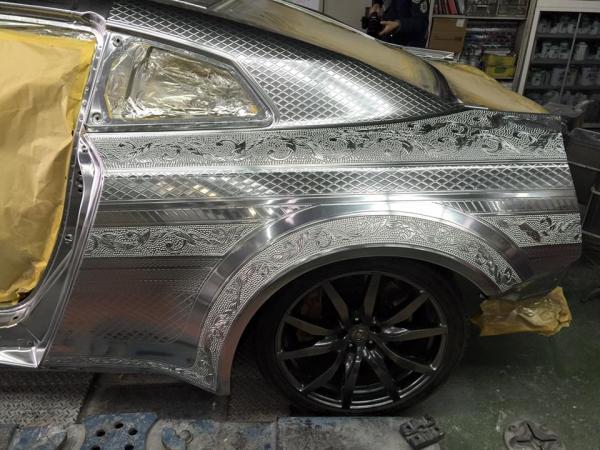 Самурайские мотивы. Невероятно красивый тюнинг спорткара Nissan (ФОТО)