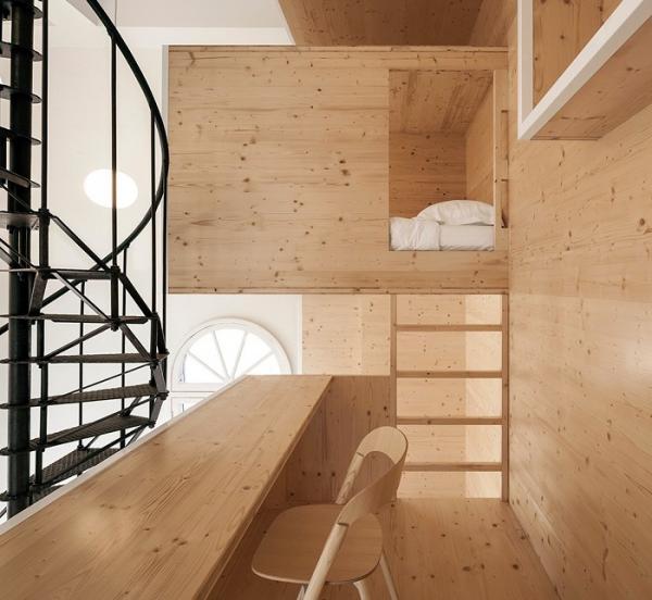 Башня, переделанная в квартиру: уникальное жилище от архитекторов из Нидерландов (ФОТО)